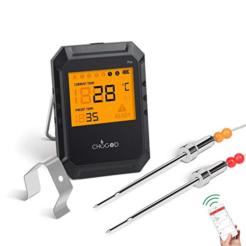 Drahtloses Grill-Thermometer /...