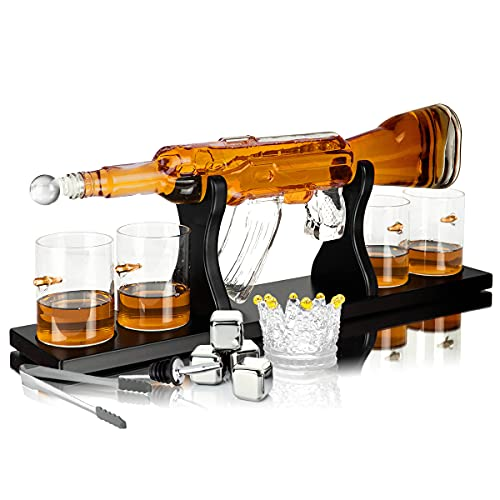 Whisiskey® Whisky Karaffe - Gewehr -...