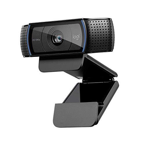 Logitech C920 HD PRO Webcam, Full-HD...