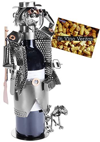 Brubaker Wein Flaschenhalter Jäger -...