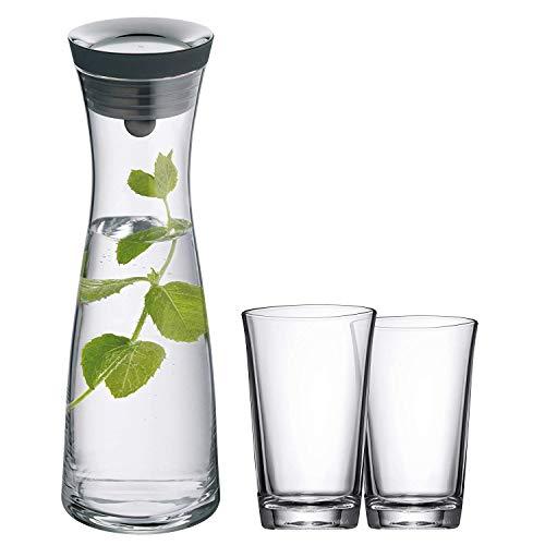 WMF Basic Wasserkaraffe Set 3-teilig,...