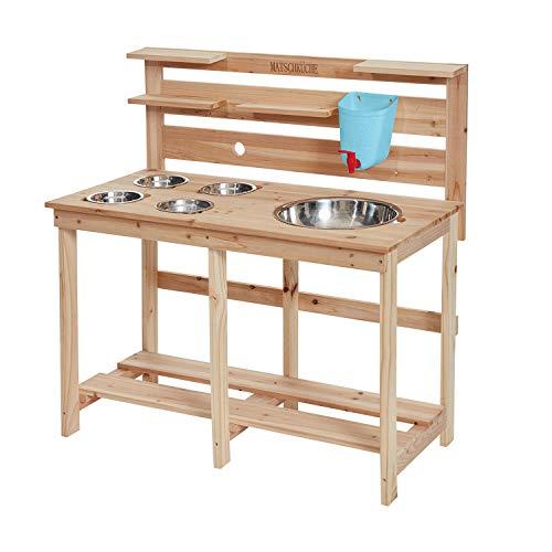 Miganeo Kinder Holz Matschküche...