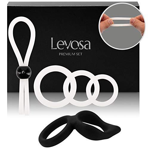 Levosa® 5er Penisring Set - Cockringe +...