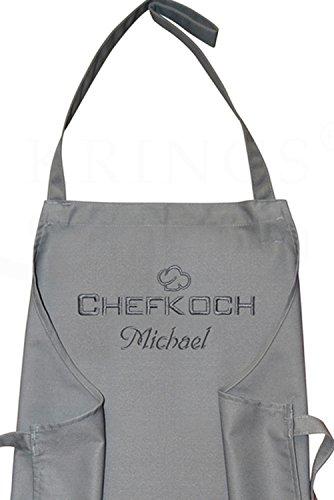 KringsFashion Latzschürze Chefkoch +...