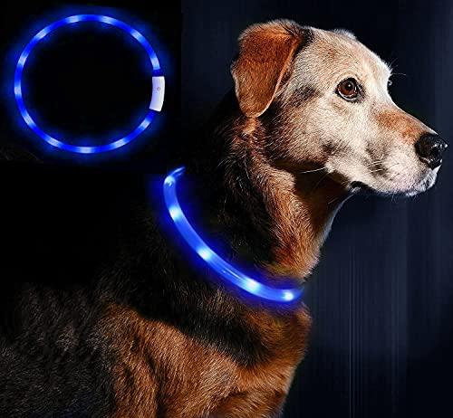 LED Leuchthalsband Hunde Halsband -...