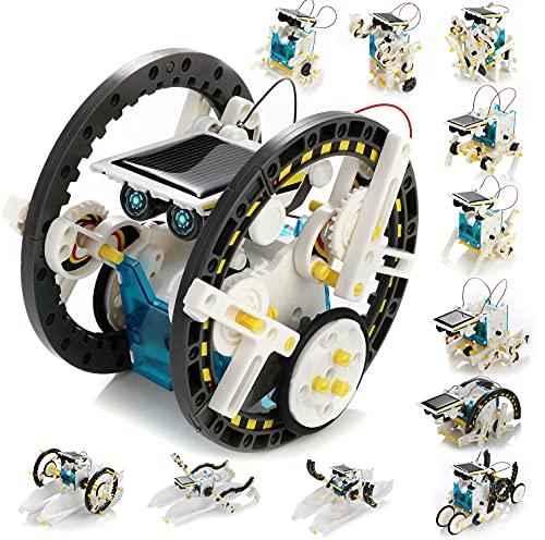 KIDWILL 13 in 1 Solar Roboter Set, STEM...