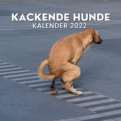 Kackende Hunde Kalender 2022: Lustige...