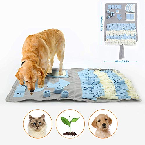 Schnüffelteppich für Hunde...