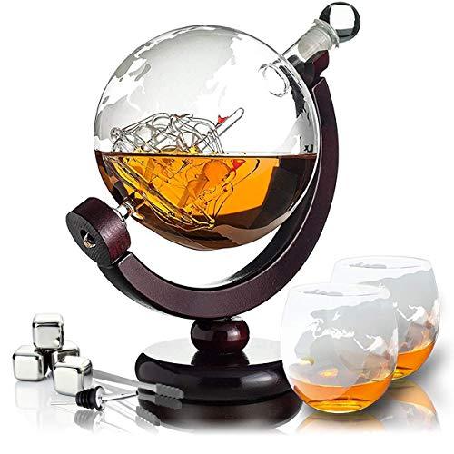 Whisiskey® Whisky Karaffe - Globus -...