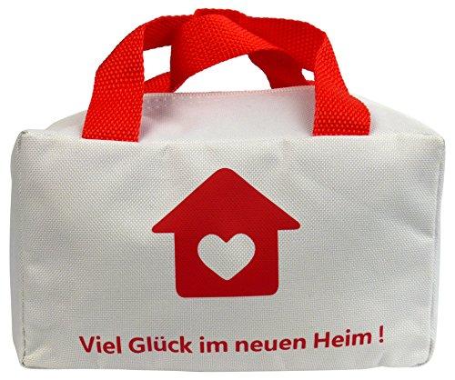 """Lustige Tasche """"Viel Glück im neuen..."""