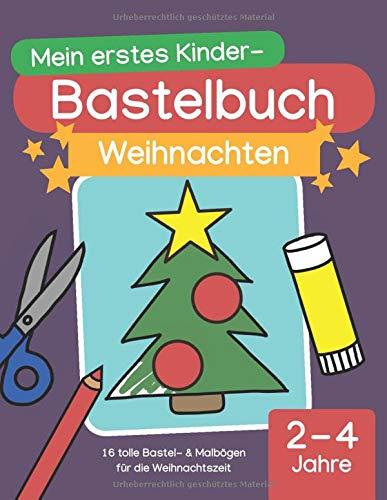 Mein erstes Kinder-Bastelbuch:...