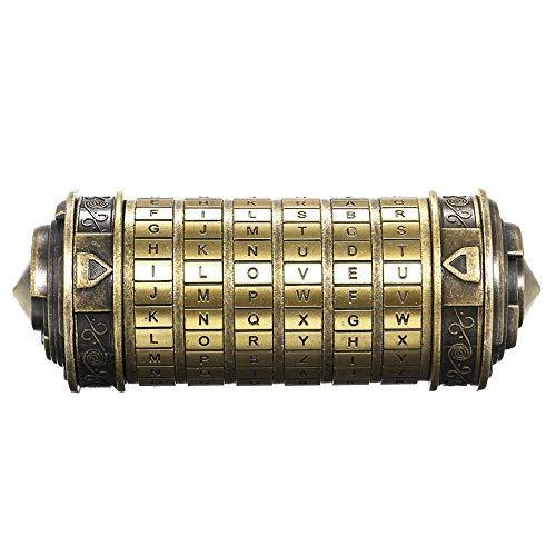 Decdeal Da Vinci Code Mini Cryptex...