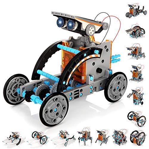 KIDWILL 14 in 1 Solar Roboter Set, STEM...