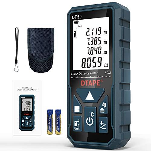 Entfernungsmesser, DTAPE DT50 50M...