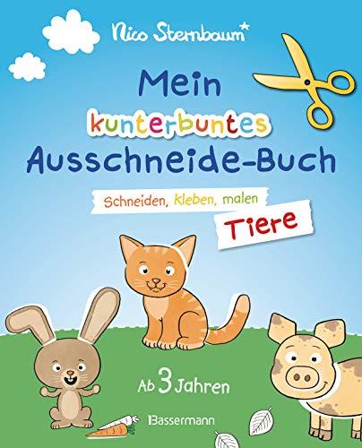 Mein kunterbuntes Ausschneidebuch -...