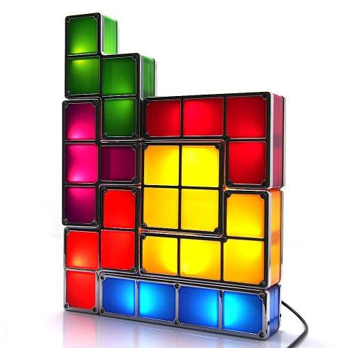 Tetris Leuchte Tischlampe das Gamer...