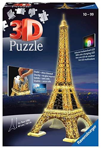 Ravensburger 12579 3D Puzzle Eiffelturm...