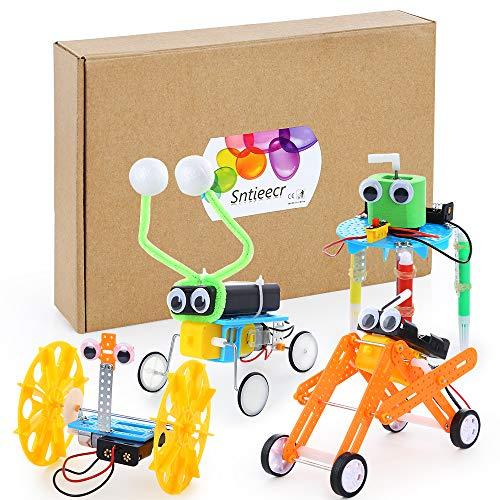 Sntieecr 4 Set Roboter Bausteine...