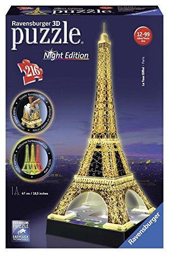 Ravensburger 125791 Eiffelturm bei Nacht...