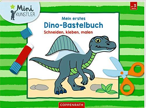 Mein erstes Dino-Bastelbuch: Schneiden,...