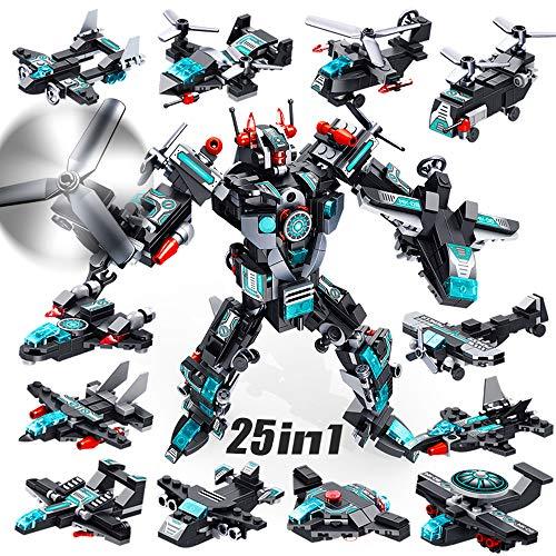 VATOS Roboter Bausteine Spielzeug ab 6 7...