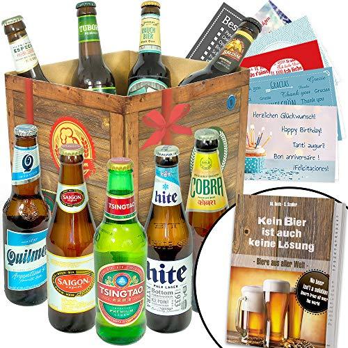 BIERE DER Welt Geschenk Box Männer +...