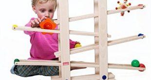 Kugelbahn zum 1. Geburtstag – Farben, Formen und Bewegung