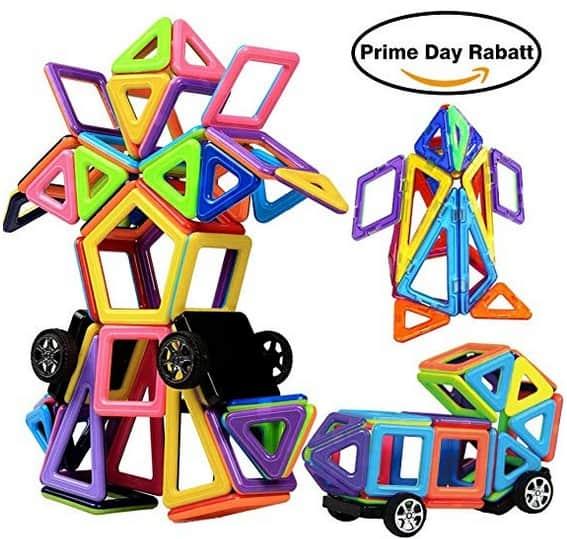 Magnetische Bausteine für Kinder – logisches Kombinieren für Kreative