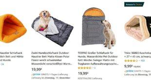 Kuriose Geschenke: Einen Hundeschlafsack schenken